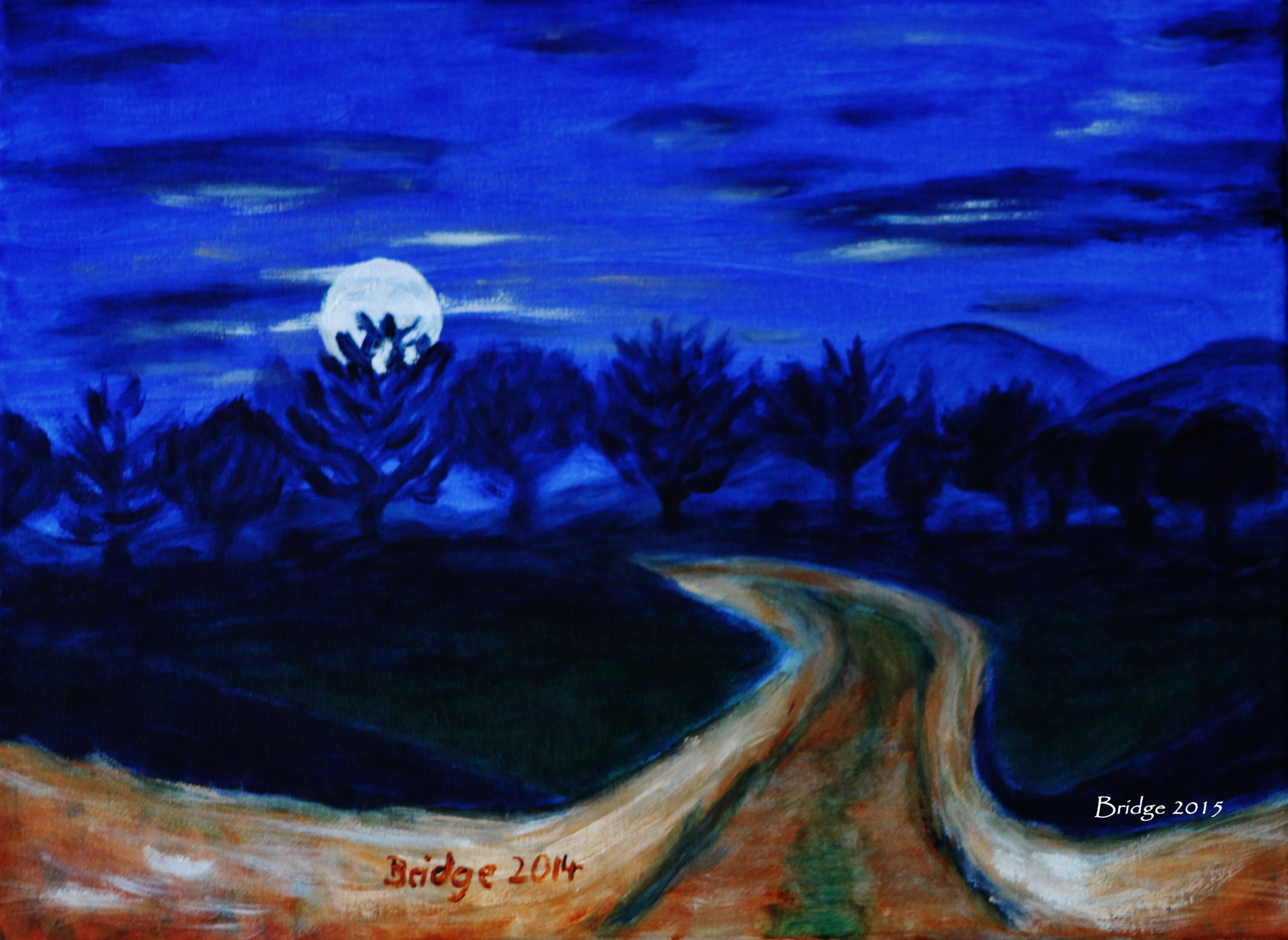 Moonlight Mystery, ArtHenning