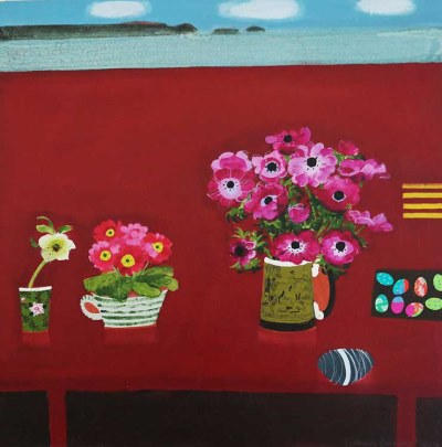 Pink Easter Anemones by Emma Dunbar, £2,700