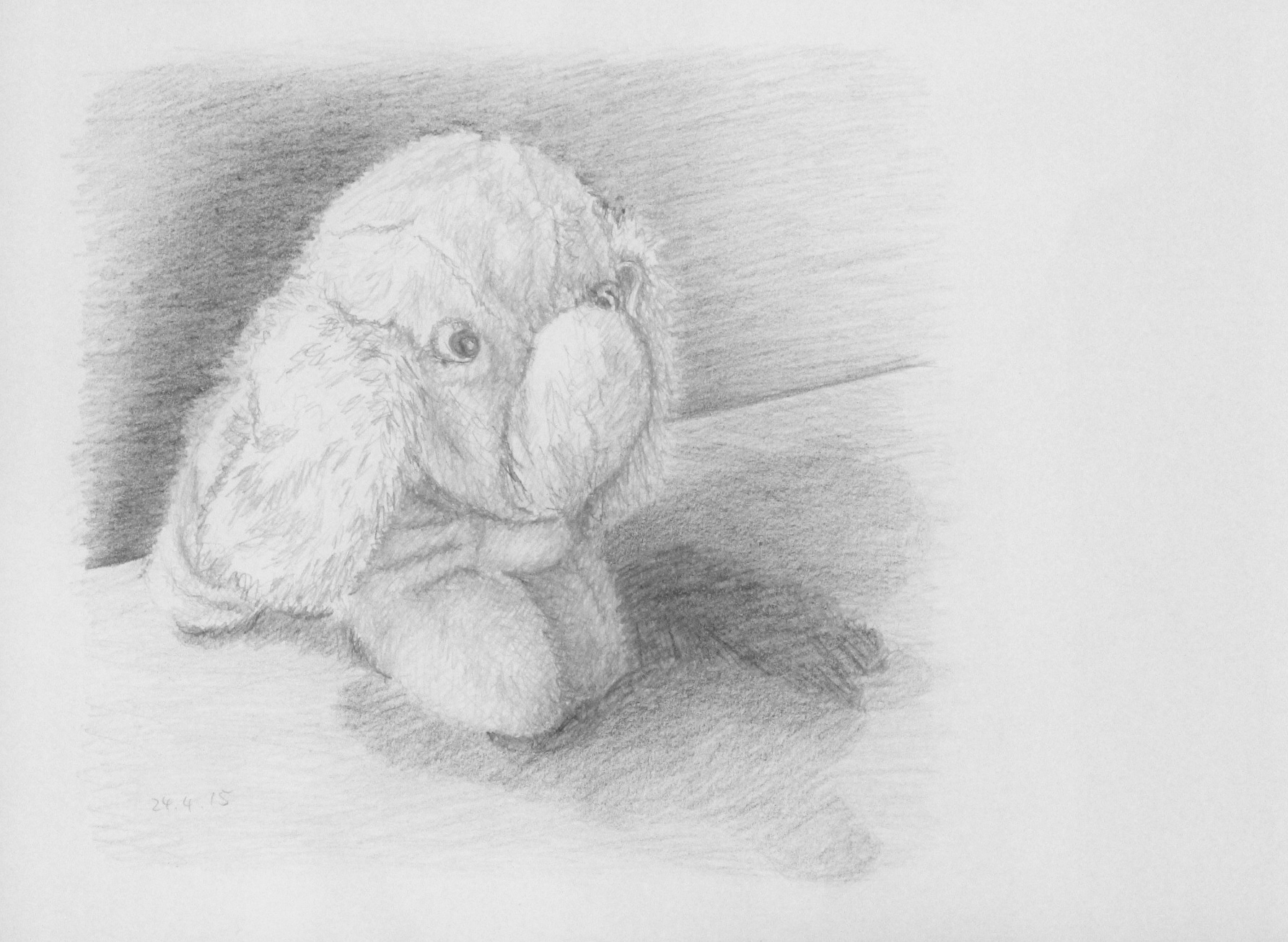 Pencil Portrait of an Elephant, ArtHenning