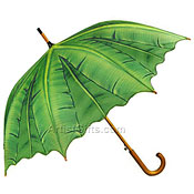 Modern Palm Leaf Umbrella