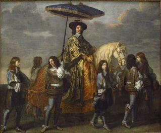 Charles Le Brun (1619-1690), Pierre Seguier, chancelier de France (1655-1661)