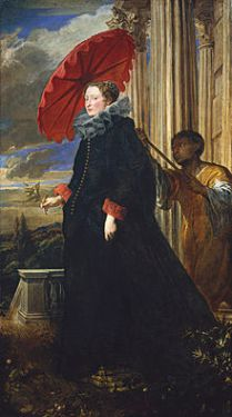 Anthony van Dyck (1599-1641), Marchesa Elena Grimaldi, 1623