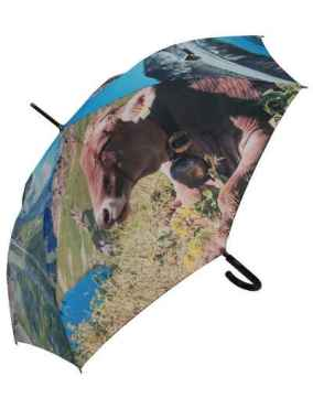 "Cow Umbrella ""Almrausch"" (""Alpine Ecstasy"")"