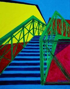 The Green Bridge, ArtHenning
