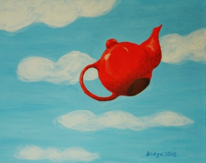 The High-Flying Red Teapot, ArtHenning