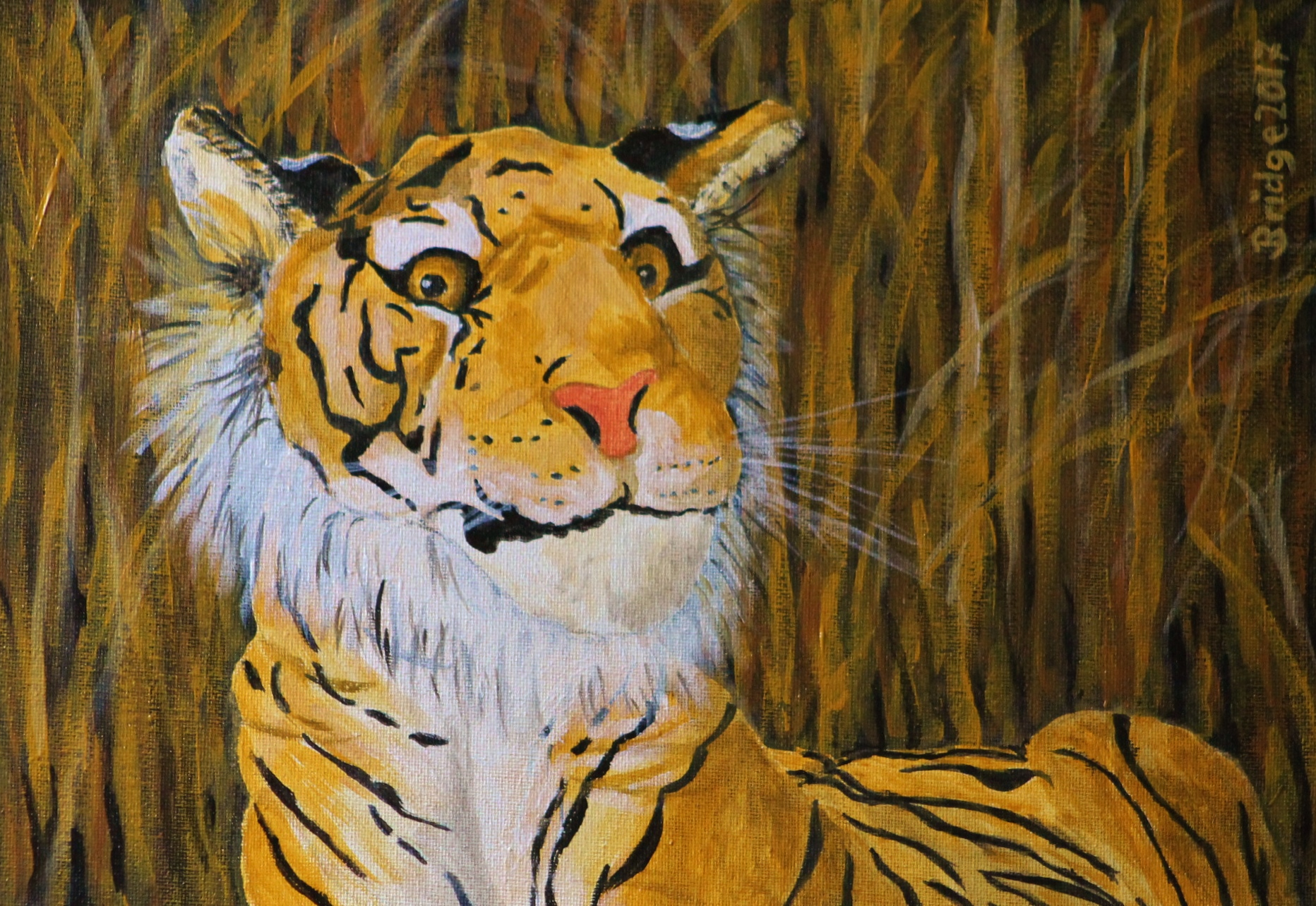 Tiger in the Grass, ArtHenning